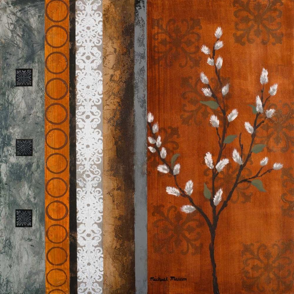 konfigurieren des Kunstdrucks in Wunschgröße Willow Stems II von Marcon, Michael