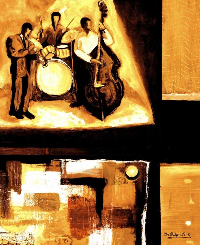 konfigurieren des Kunstdrucks in Wunschgröße Musical Trio I von Spruill, Everett