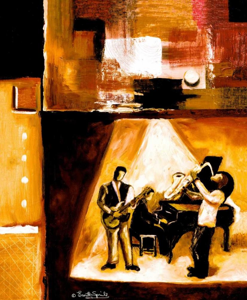 konfigurieren des Kunstdrucks in Wunschgröße Musical Trio II von Spruill, Everett