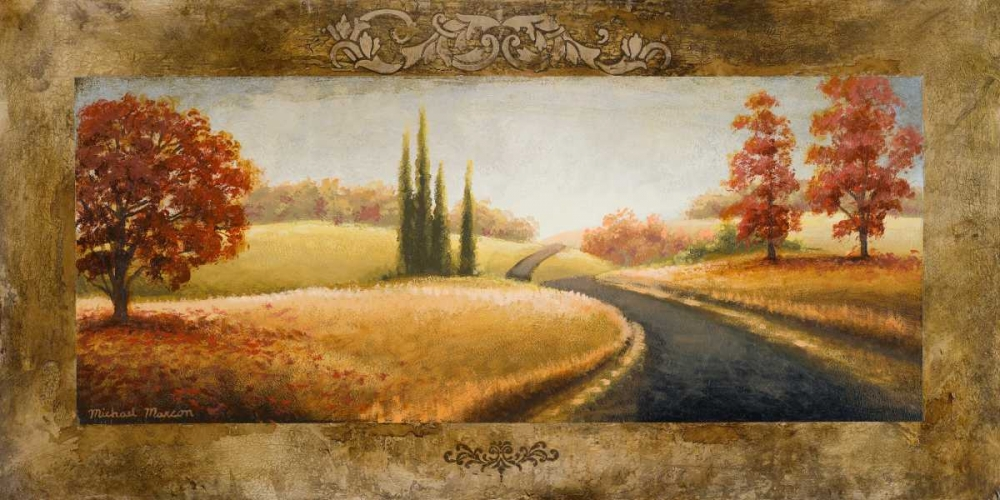 konfigurieren des Kunstdrucks in Wunschgröße A Place of Passing Time II von Marcon, Michael