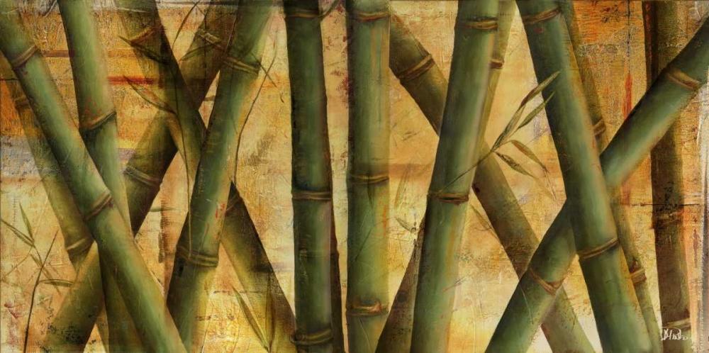 konfigurieren des Kunstdrucks in Wunschgröße Bamboo Forest I von Pinto, Patricia