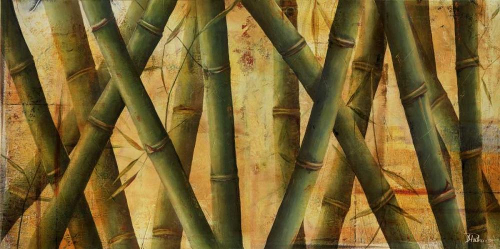 konfigurieren des Kunstdrucks in Wunschgröße Bamboo Forest II von Pinto, Patricia