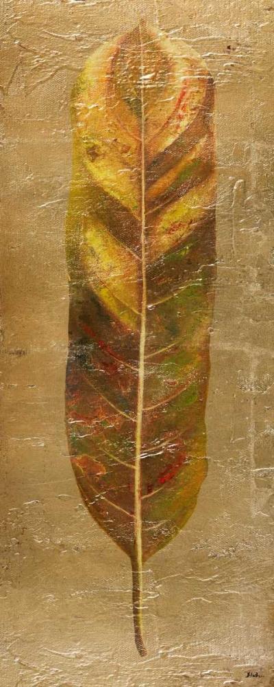 konfigurieren des Kunstdrucks in Wunschgröße Arte Verde on Gold II von Pinto, Patricia