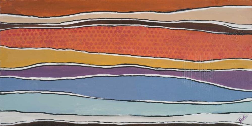 konfigurieren des Kunstdrucks in Wunschgröße New Trends I von Pinto, Patricia