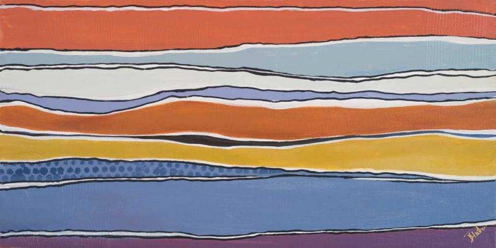 konfigurieren des Kunstdrucks in Wunschgröße New Trends II von Pinto, Patricia