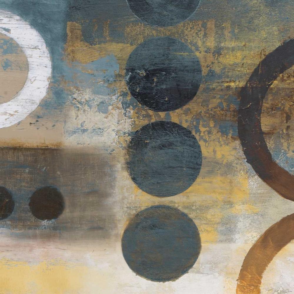 konfigurieren des Kunstdrucks in Wunschgröße Blue Liberate Square I von Marcon, Michael