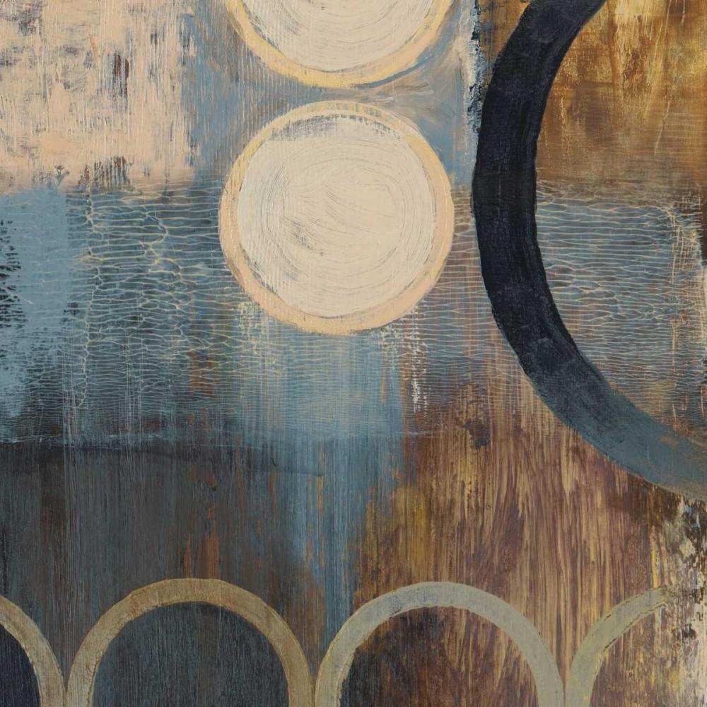 konfigurieren des Kunstdrucks in Wunschgröße Blue Liberate Square II von Marcon, Michael