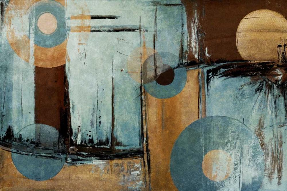 konfigurieren des Kunstdrucks in Wunschgröße Blue Escape von Pinto, Patricia