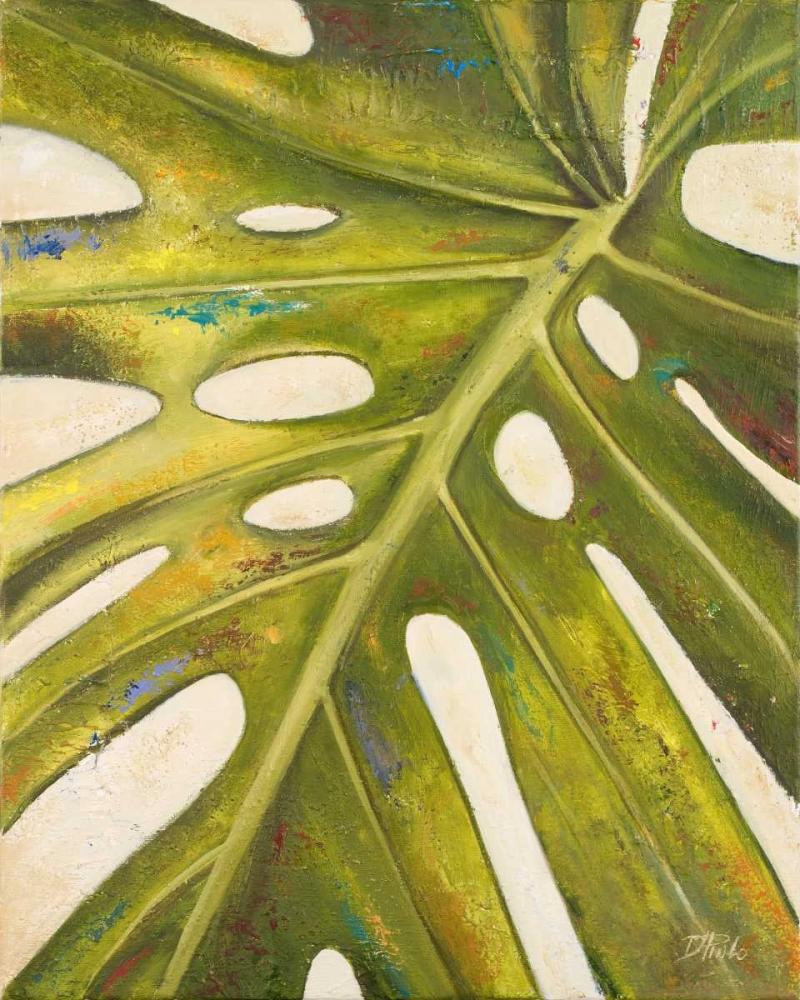 konfigurieren des Kunstdrucks in Wunschgröße Tropical Leaf I von Pinto, Patricia