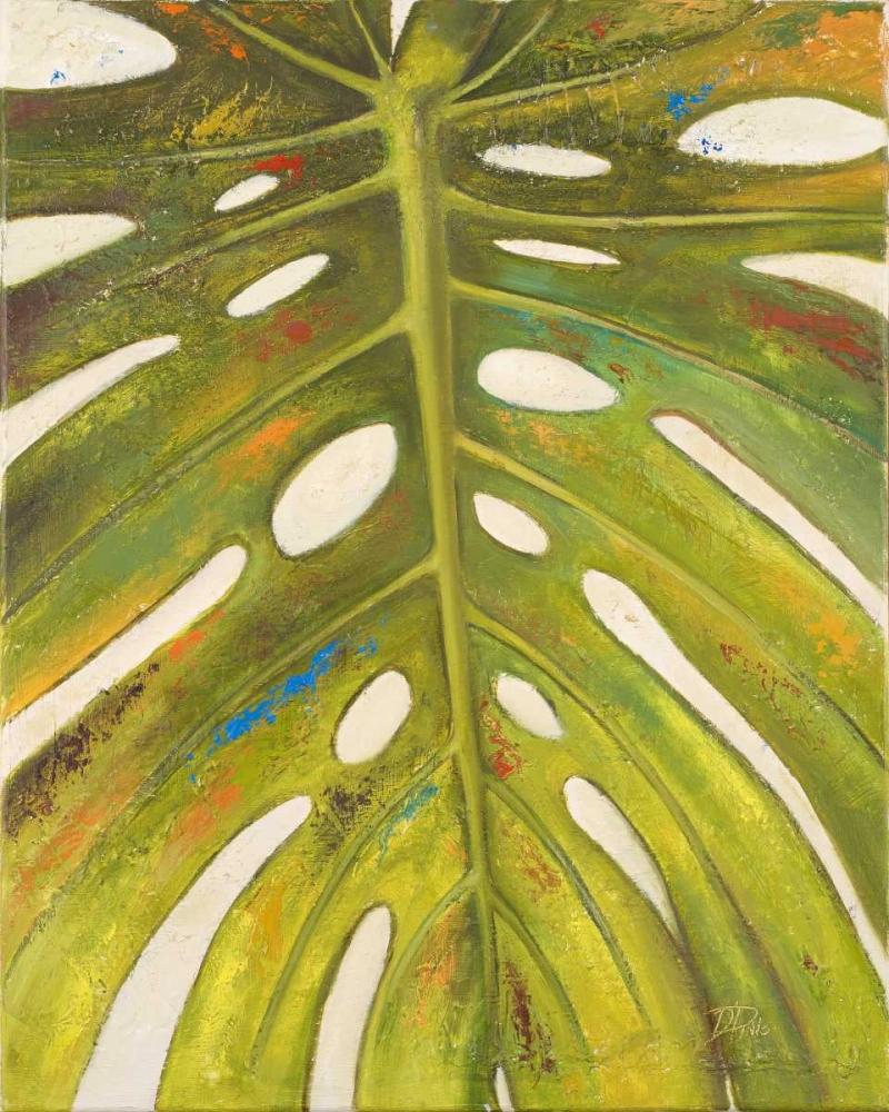 konfigurieren des Kunstdrucks in Wunschgröße Tropical Leaf II von Pinto, Patricia