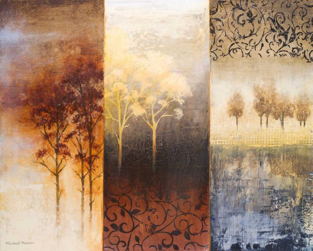 konfigurieren des Kunstdrucks in Wunschgröße Lost in Trees I von Marcon, Michael