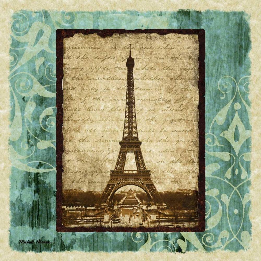 konfigurieren des Kunstdrucks in Wunschgröße Parisian Trip I von Marcon, Michael