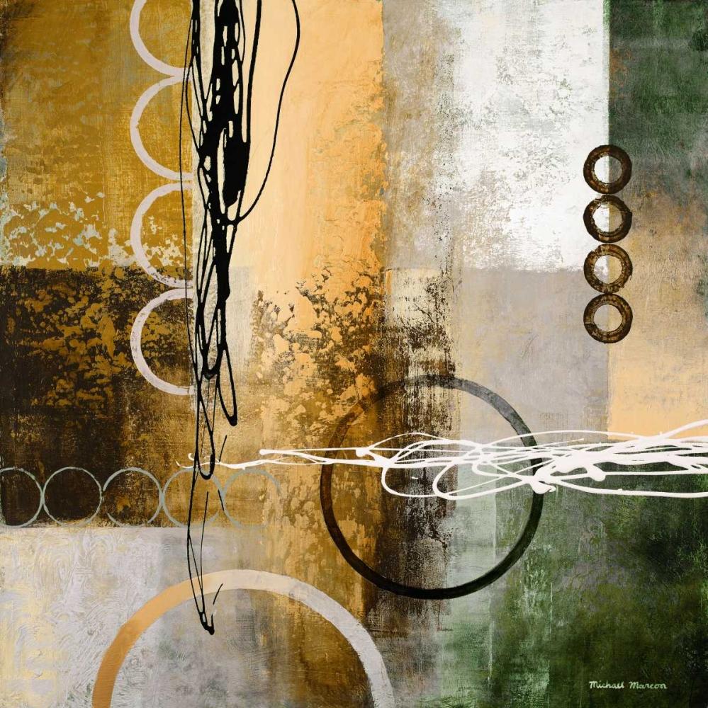 konfigurieren des Kunstdrucks in Wunschgröße Intersect I von Marcon, Michael