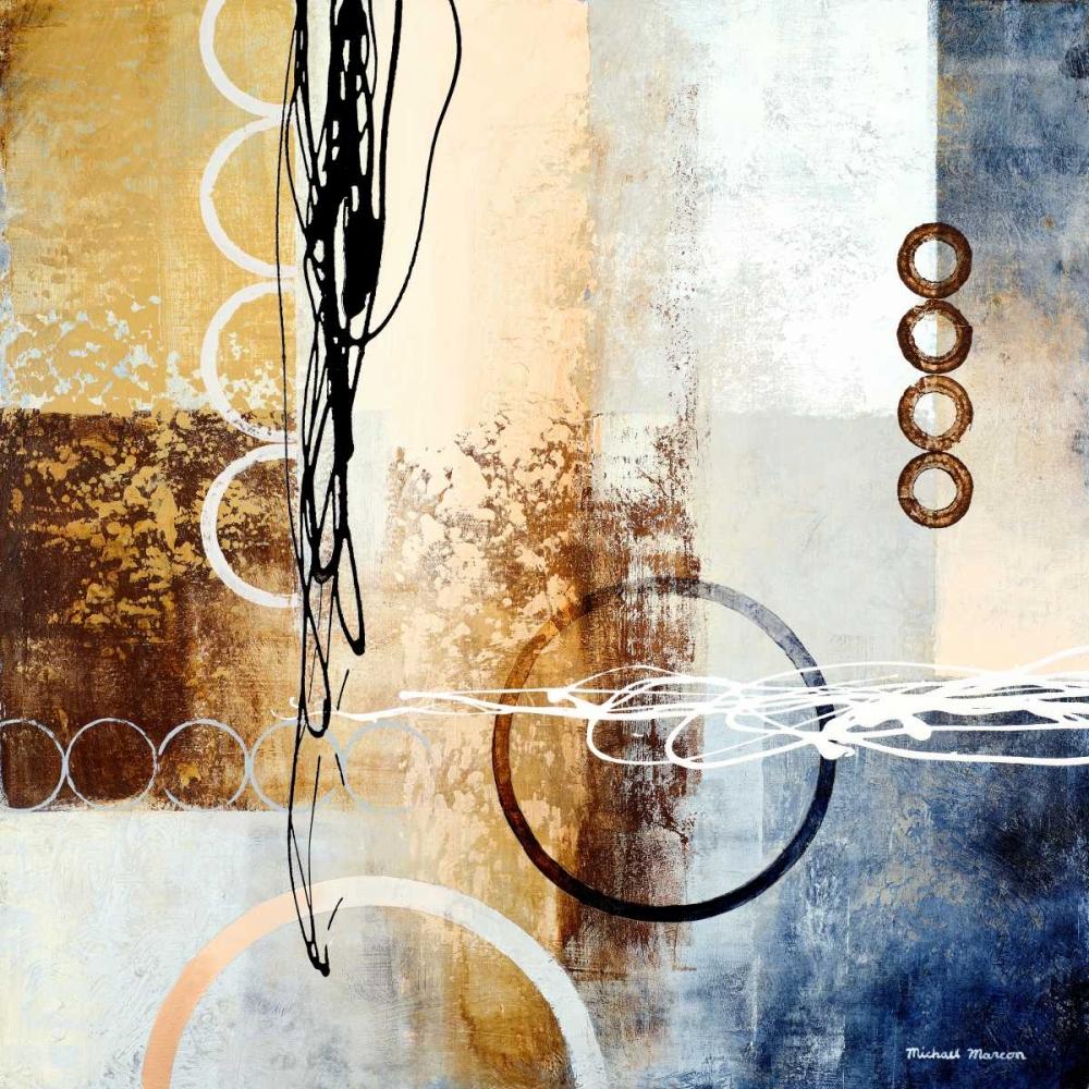 konfigurieren des Kunstdrucks in Wunschgröße Intersections I von Marcon, Michael