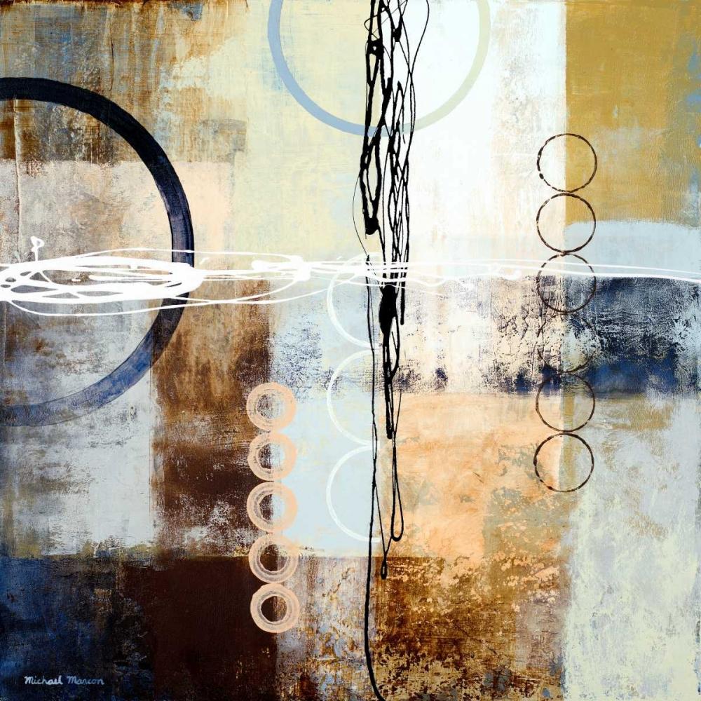 konfigurieren des Kunstdrucks in Wunschgröße Intersections II von Marcon, Michael
