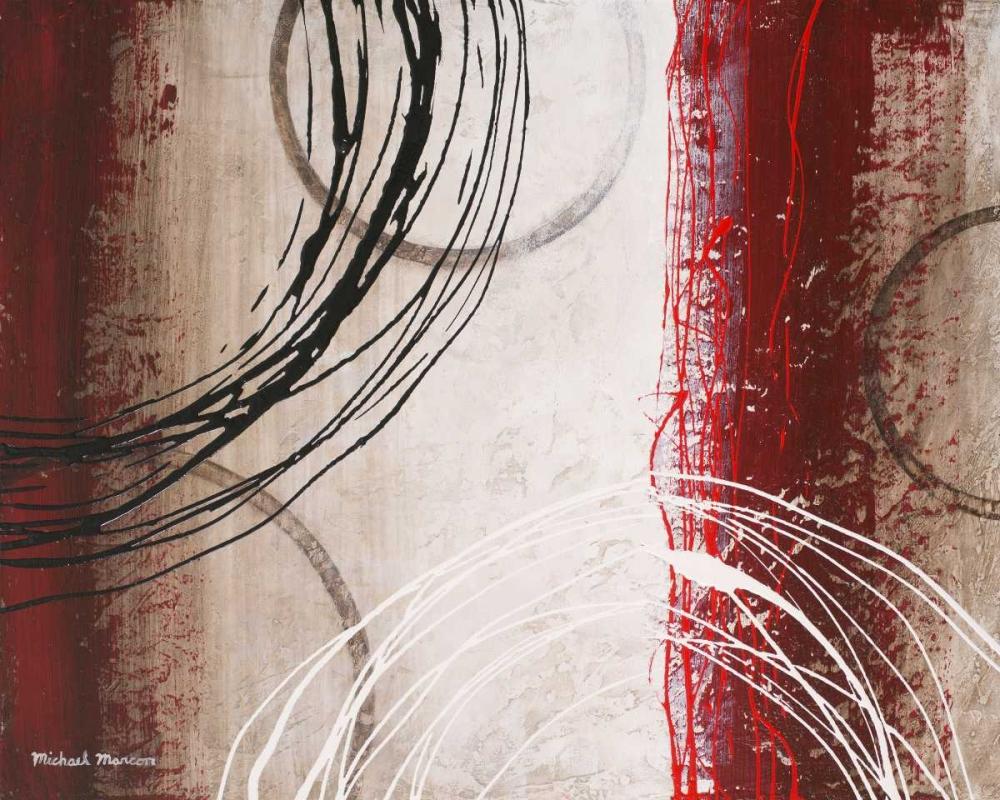 konfigurieren des Kunstdrucks in Wunschgröße Tricolored Gestures I von