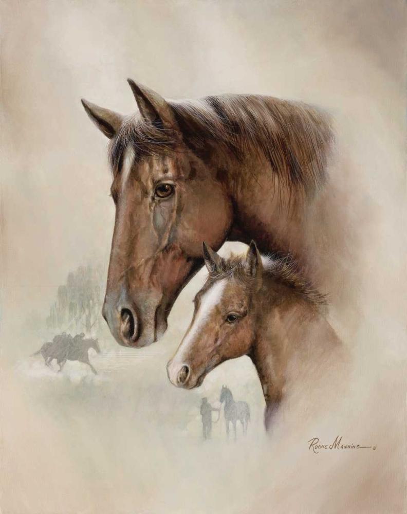 konfigurieren des Kunstdrucks in Wunschgröße Race Horse I von Manning, Ruane