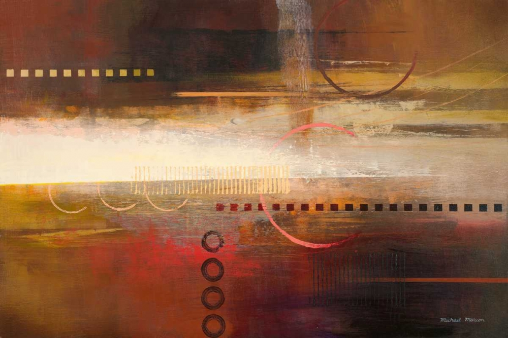 konfigurieren des Kunstdrucks in Wunschgröße Force Ten I von Marcon, Michael