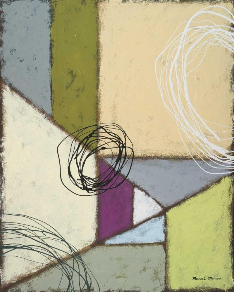 konfigurieren des Kunstdrucks in Wunschgröße Lemon Lime Play II von Marcon, Michael