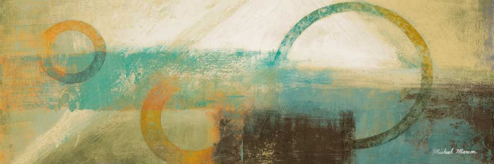 konfigurieren des Kunstdrucks in Wunschgröße Colorful Sunrise I von Marcon, Michael
