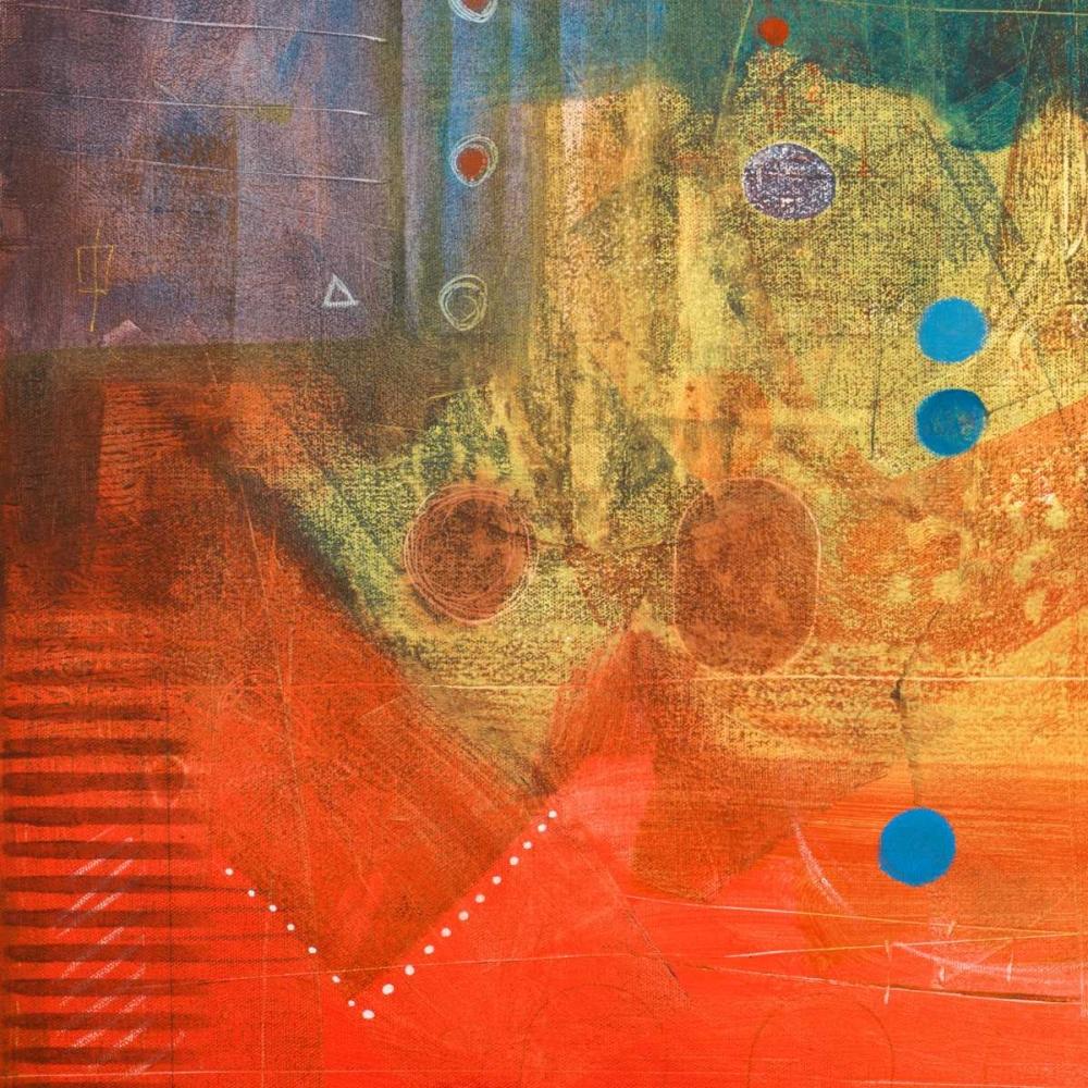 konfigurieren des Kunstdrucks in Wunschgröße Four Corners II von Kingsley