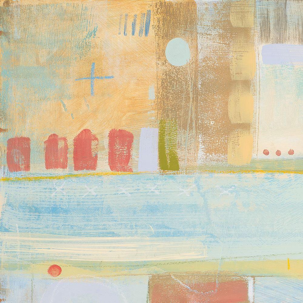 konfigurieren des Kunstdrucks in Wunschgröße Four Corners I von Kingsley