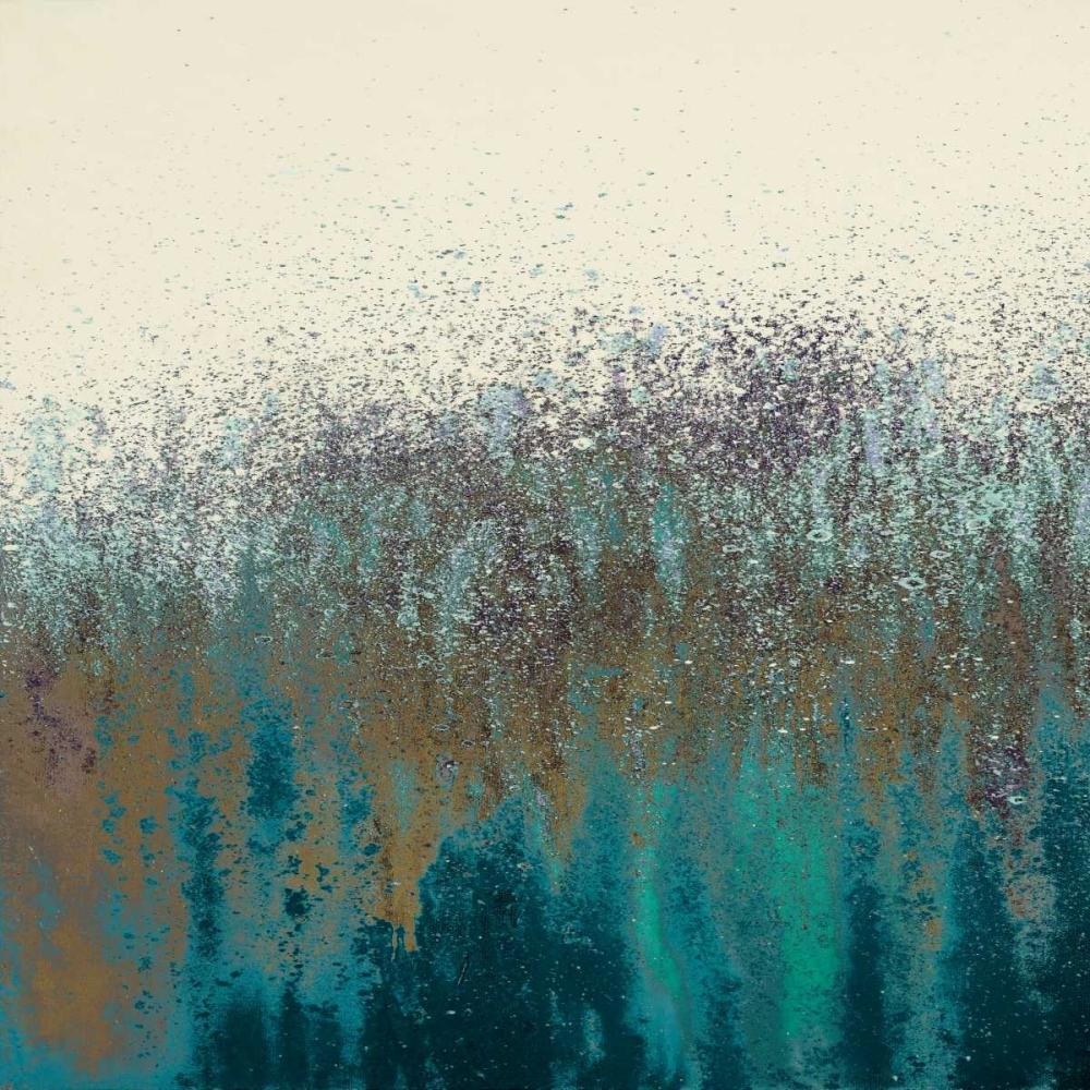 konfigurieren des Kunstdrucks in Wunschgröße Teal Woods I von Gonzalez, Roberto