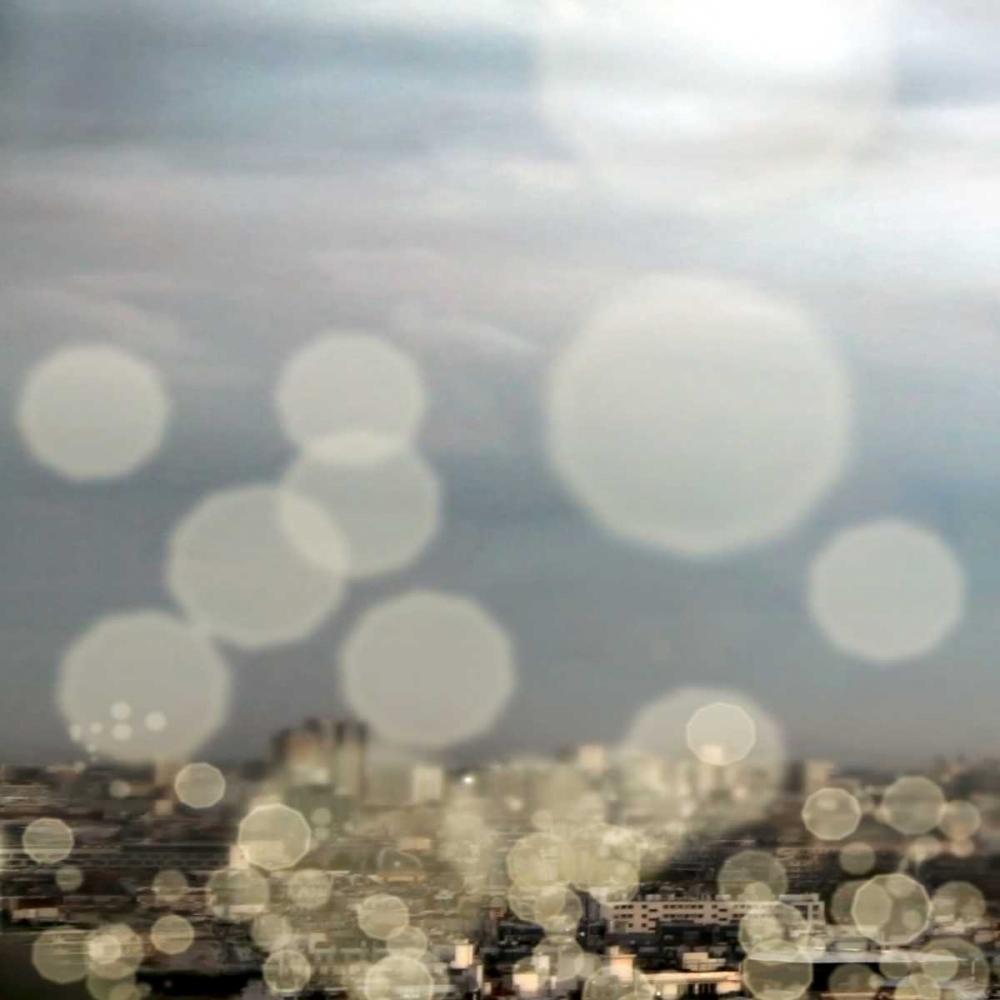 konfigurieren des Kunstdrucks in Wunschgröße City of Lights Square I von Navas, Emily