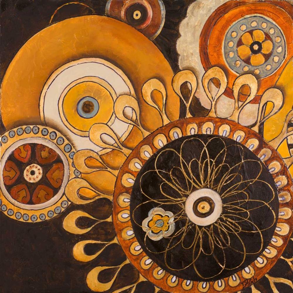 konfigurieren des Kunstdrucks in Wunschgröße Galactic I von Pinto, Patricia