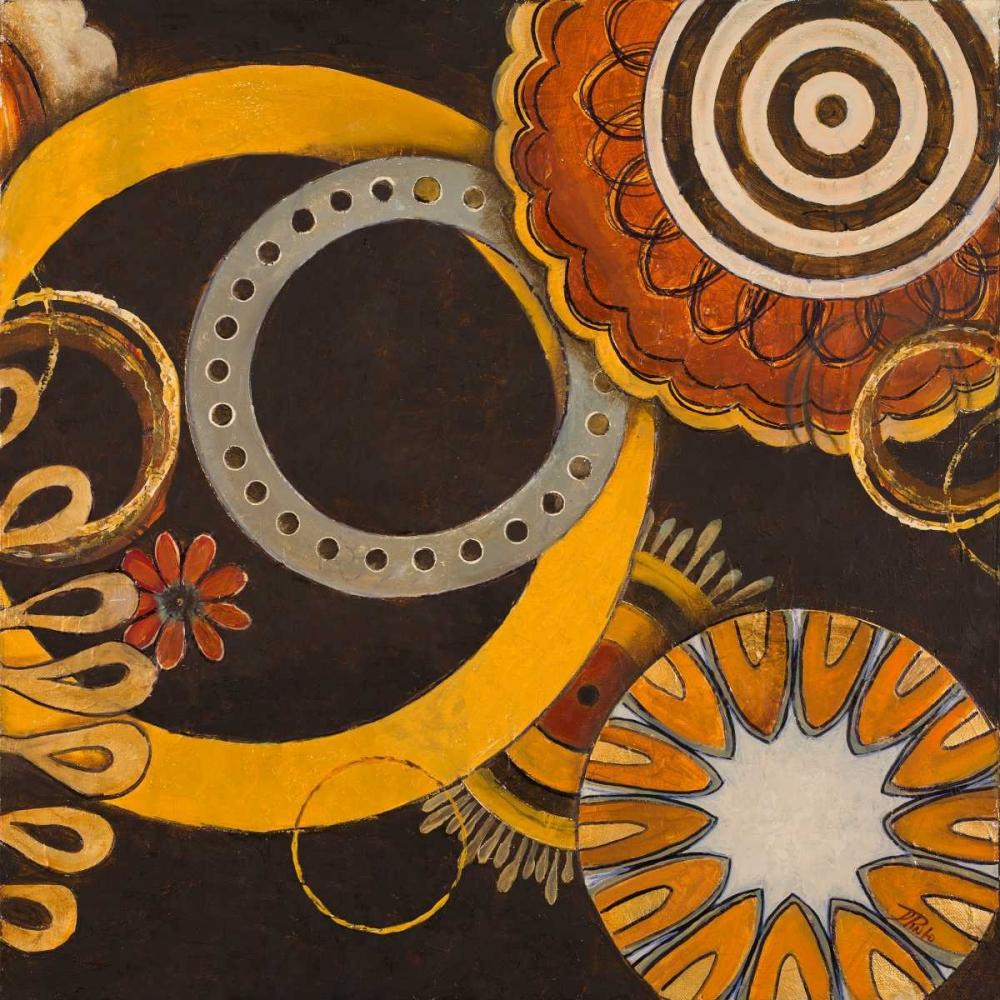 konfigurieren des Kunstdrucks in Wunschgröße Galactic II von Pinto, Patricia