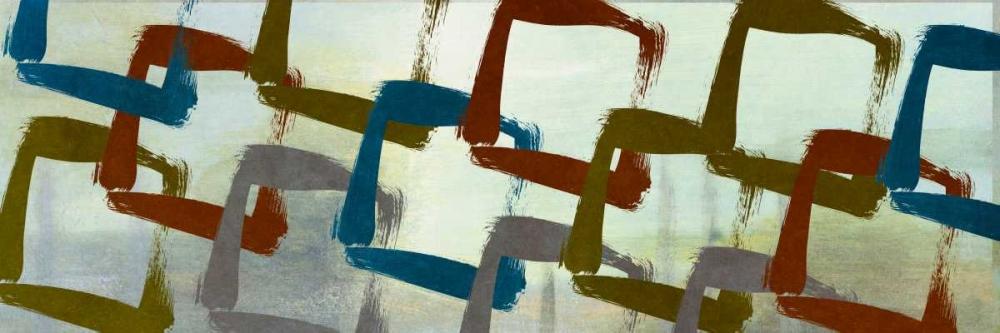 konfigurieren des Kunstdrucks in Wunschgröße Abstract Squared II von Marcon, Michael