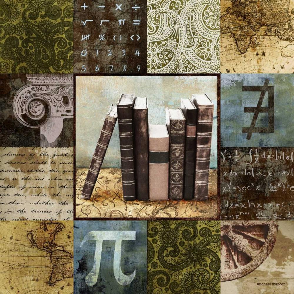konfigurieren des Kunstdrucks in Wunschgröße Escape to the Library I von Marcon, Michael