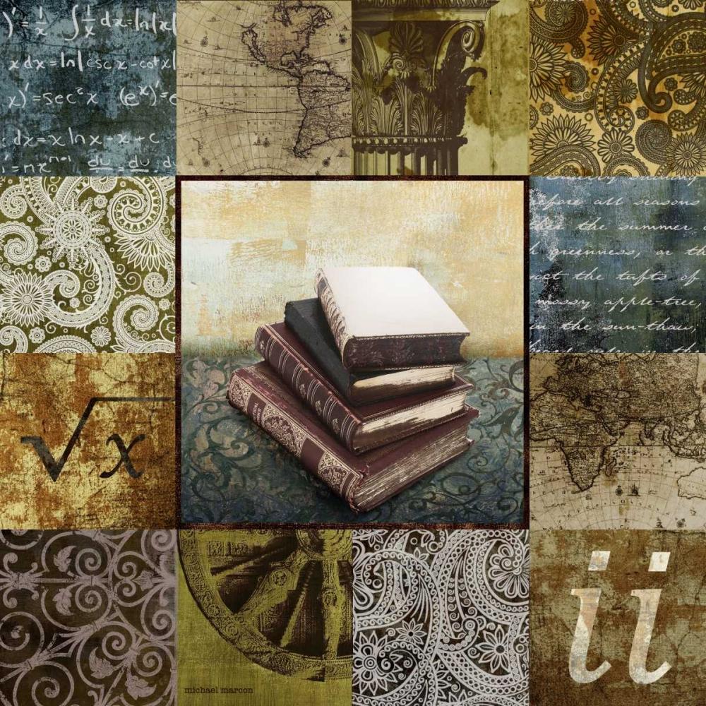 konfigurieren des Kunstdrucks in Wunschgröße Escape to the Library II von Marcon, Michael