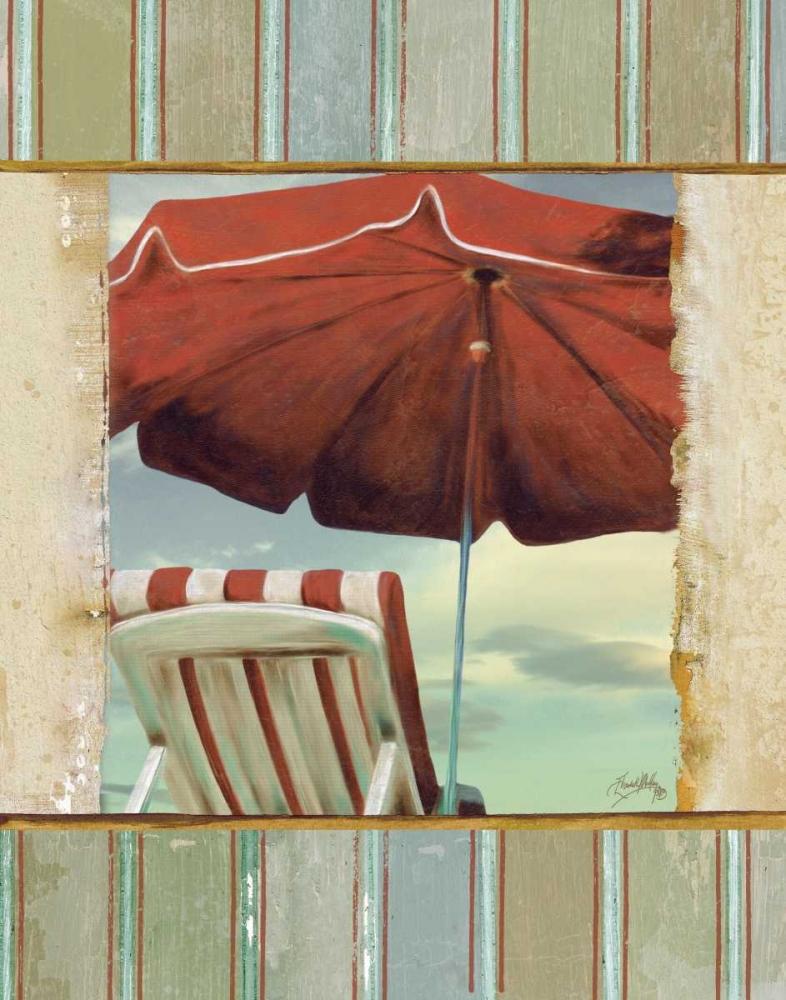 konfigurieren des Kunstdrucks in Wunschgröße Chaise de Plage I von Medley, Elizabeth