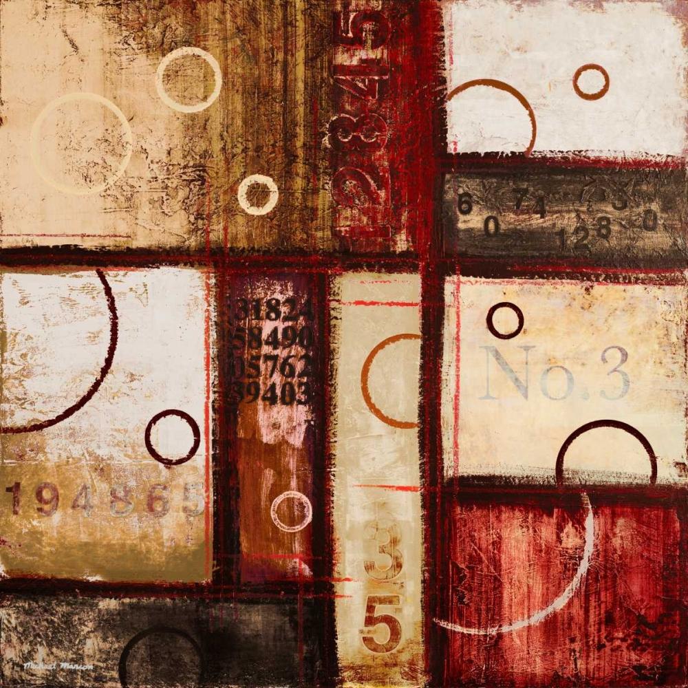 konfigurieren des Kunstdrucks in Wunschgröße Digits in the Abstract I von Marcon, Michael
