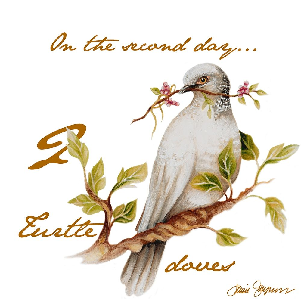konfigurieren des Kunstdrucks in Wunschgröße Two Turtle Doves von Gaynor, Janice