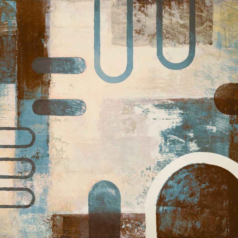 konfigurieren des Kunstdrucks in Wunschgröße Playing With Shapes II von Marcon, Michael