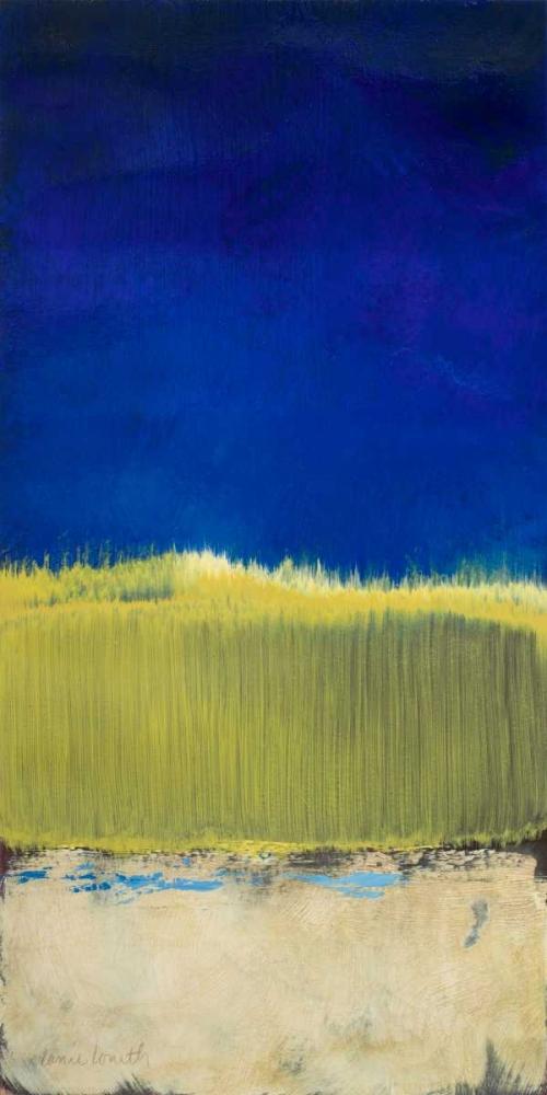 konfigurieren des Kunstdrucks in Wunschgröße Blue Lagoon I von Loreth, Lanie