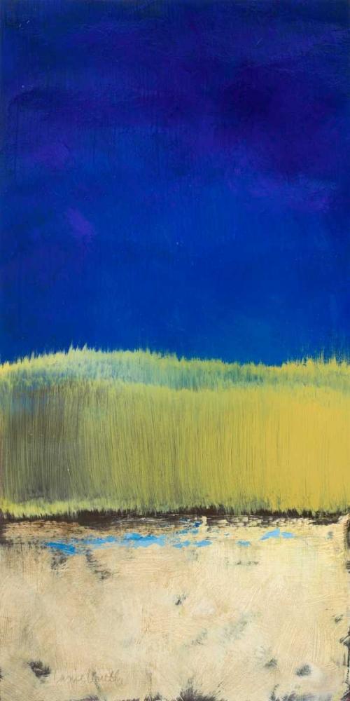 konfigurieren des Kunstdrucks in Wunschgröße Blue Lagoon II von Loreth, Lanie