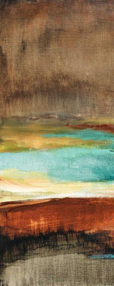 konfigurieren des Kunstdrucks in Wunschgröße Rustic Sea Panel I von Loreth, Lanie
