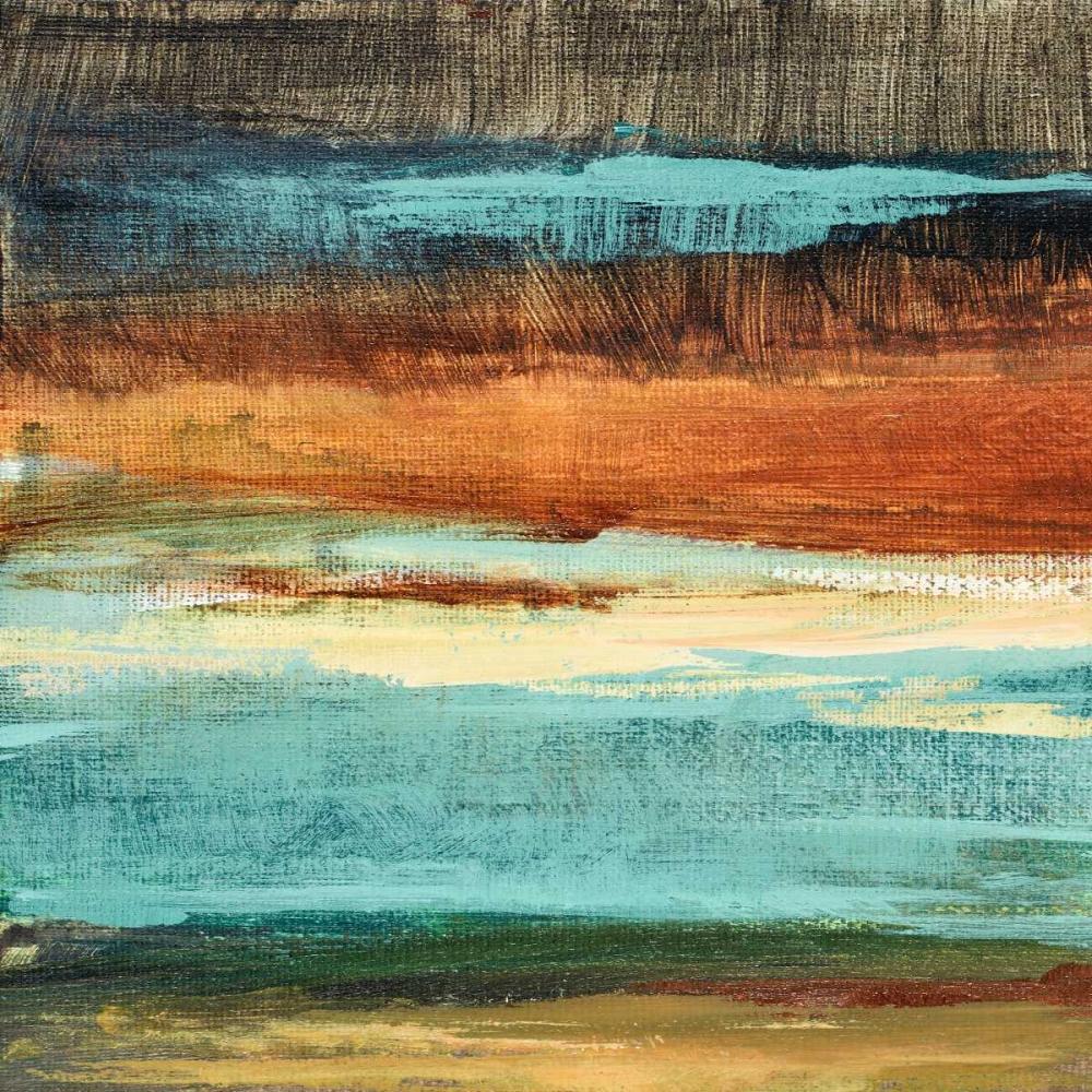 konfigurieren des Kunstdrucks in Wunschgröße Rustic Sea Square II von Loreth, Lanie