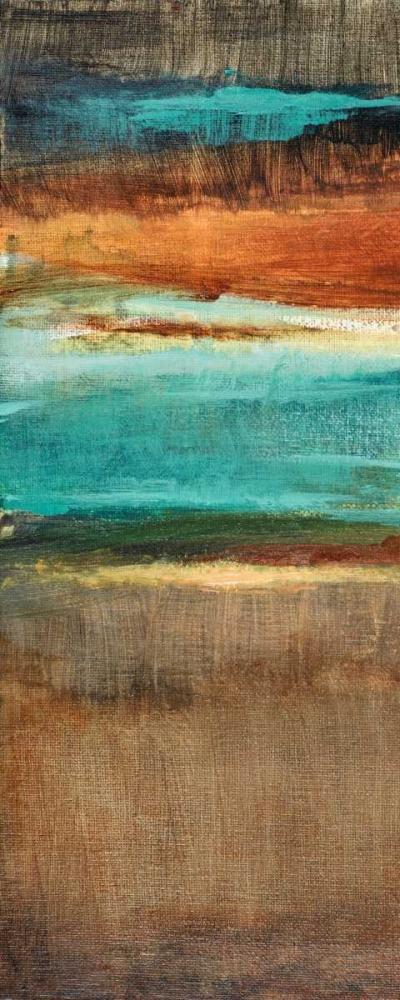 konfigurieren des Kunstdrucks in Wunschgröße Rustic Sea Panel II von Loreth, Lanie