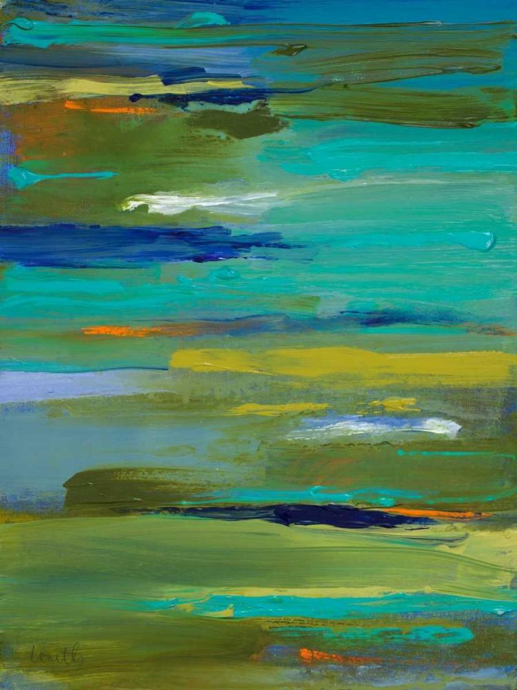 konfigurieren des Kunstdrucks in Wunschgröße Pond of Color von Loreth, Lanie