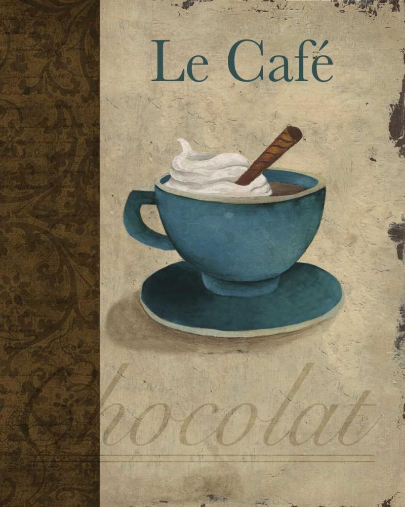 konfigurieren des Kunstdrucks in Wunschgröße Le Cafe von Medley, Elizabeth