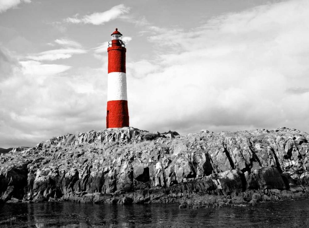 konfigurieren des Kunstdrucks in Wunschgröße Lighthouse Border von Coppel, Anna