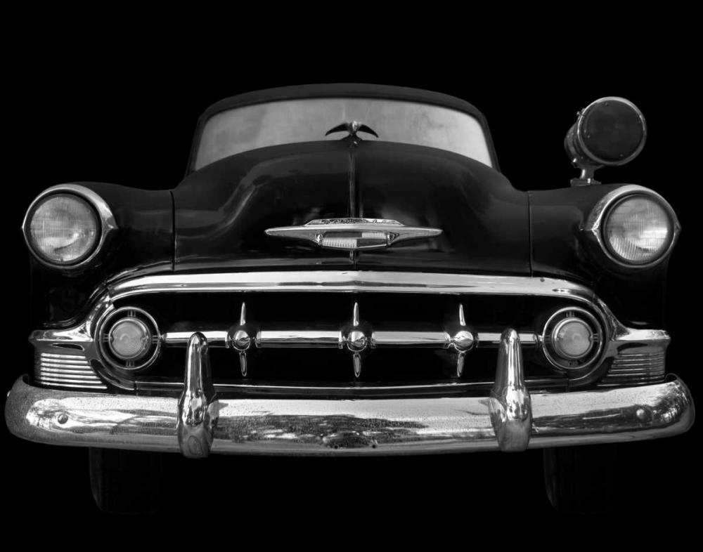 konfigurieren des Kunstdrucks in Wunschgröße Black and White Classic Ride von Jones, Robert
