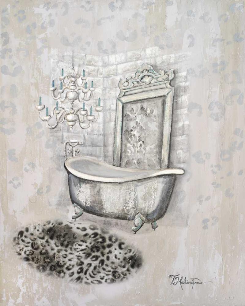 konfigurieren des Kunstdrucks in Wunschgröße Antique Mirrored Bath II von Hakimipour, Tiffany