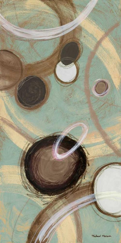 konfigurieren des Kunstdrucks in Wunschgröße Inside Blue II von Marcon, Michael