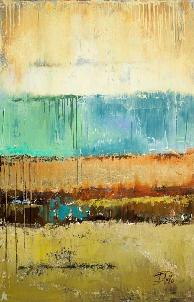 konfigurieren des Kunstdrucks in Wunschgröße Rain I von Pinto, Patricia