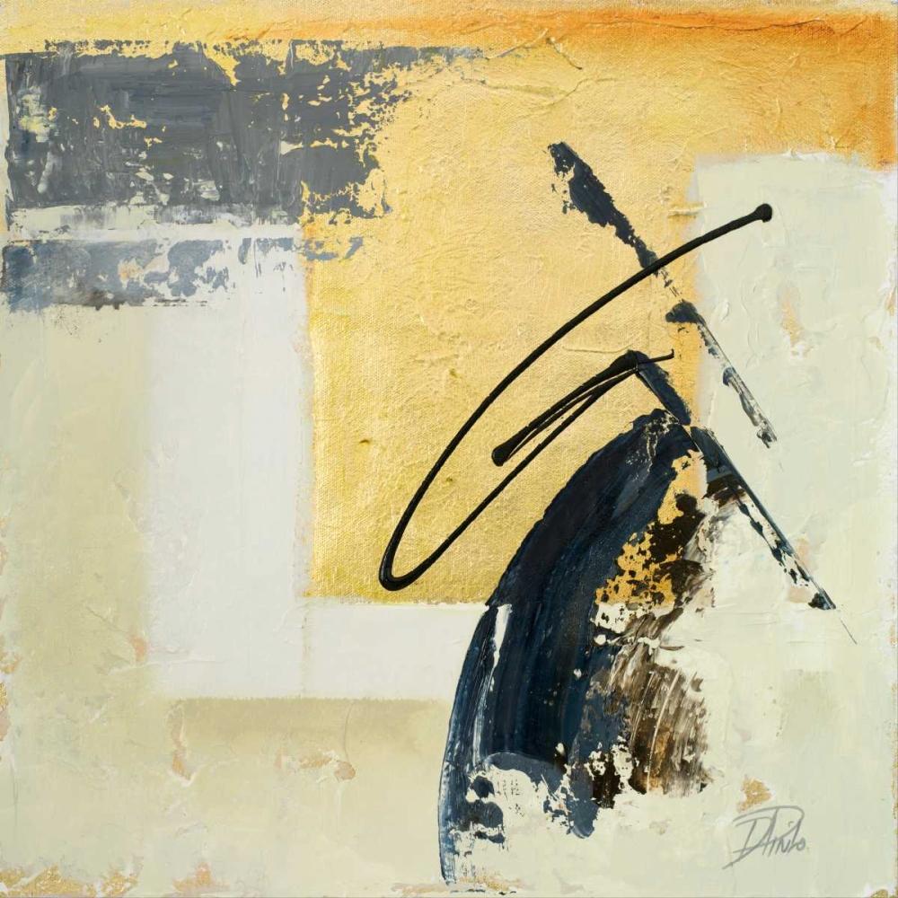 konfigurieren des Kunstdrucks in Wunschgröße The Sign of Gold I von Pinto, Patricia